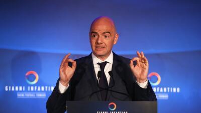 Gianni Infantino, candidato a la presidencia de FIFA