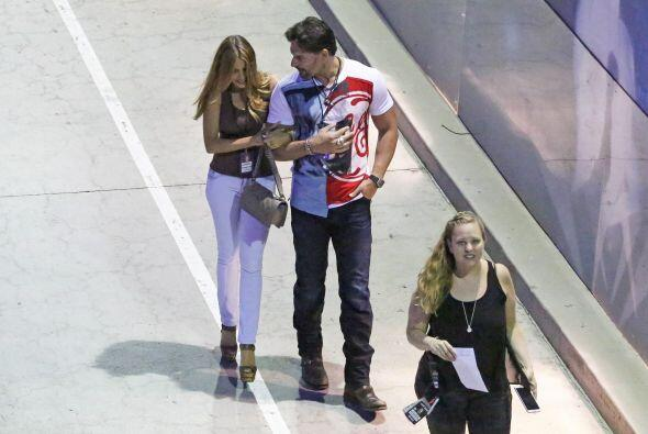 La colombiana y el actor están iniciando su relación, la etapa más bonit...