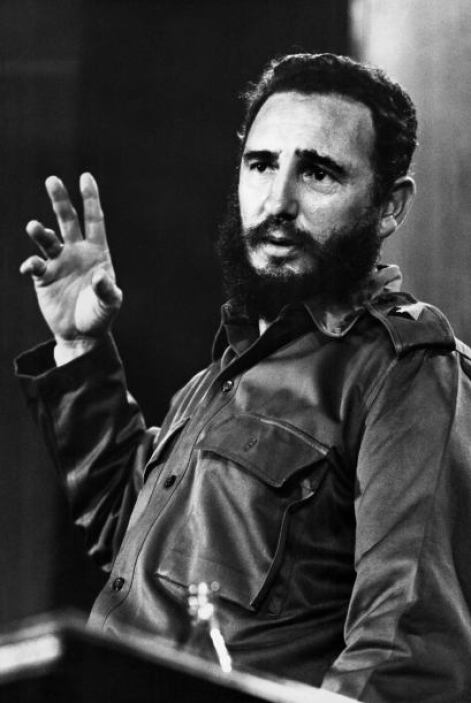 FIDEL CASTRO.- El político y ex mandatario cubano llegó al poder tras en...
