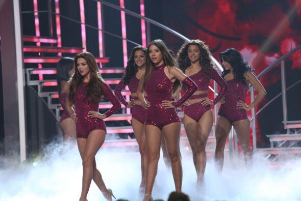 Las chicas de Nuestra Belleza Latina se convirtieron en las bailarinas d...
