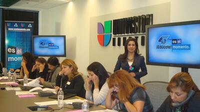 Phone Bank sobre Educación (Fotos cortesía de Grace Olivares)