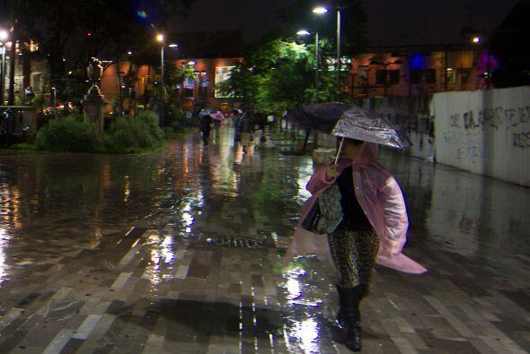 También se esperan lluvias fuertes en Jalisco, Aguascalientes, Guanajuat...