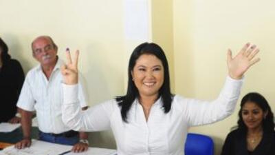 "La candidata presidencial, Keiko Fujimori aseguró ""Yo no soy Alberto Fuj..."