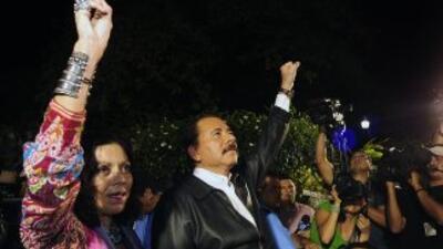 El Consejo Electoral ratificó la reelección de Ortega como presidente co...