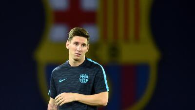 Messi vuelve a entrenarse con el Barcelona