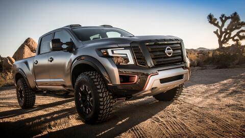 La Nissan TITAN Warrior es una pick up concepto presentada en el Auto Sh...