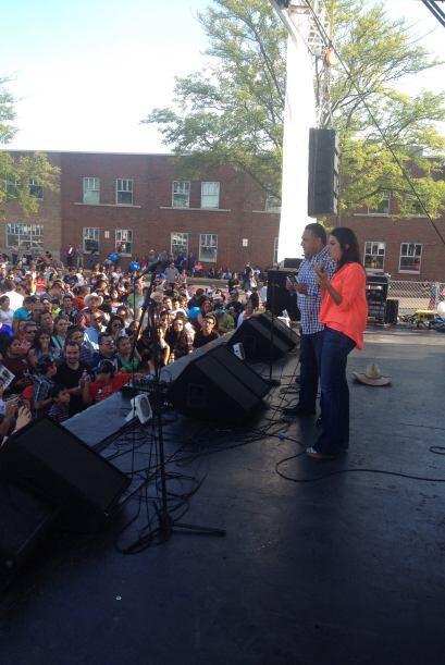 Maity agradeció a todas las familias que asistieron a este evento...