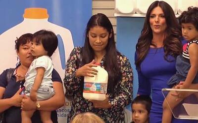 Univision apoya el programa 'Leche para América'