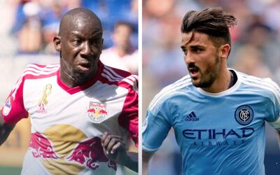Bradley Wright-Phillips vs David Villa