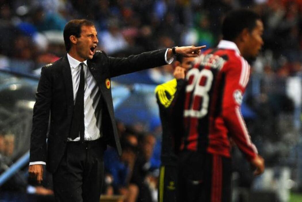 El entrenador Massimiliano Allegri le exigía más a sus jugadores, que es...