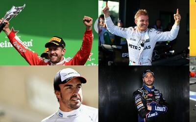 Éstos son los seis pilotos mejor pagados del mundo
