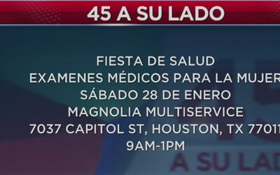 Evento de exámenes gratuitos en Houston para identificar el cáncer cervical