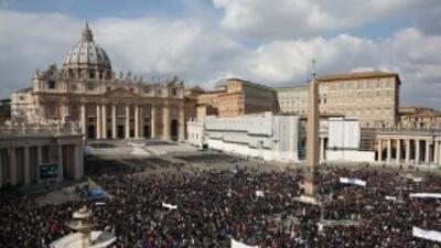 El Vaticano se alista para recibir al sucesor del Papa Benedicto XVI.