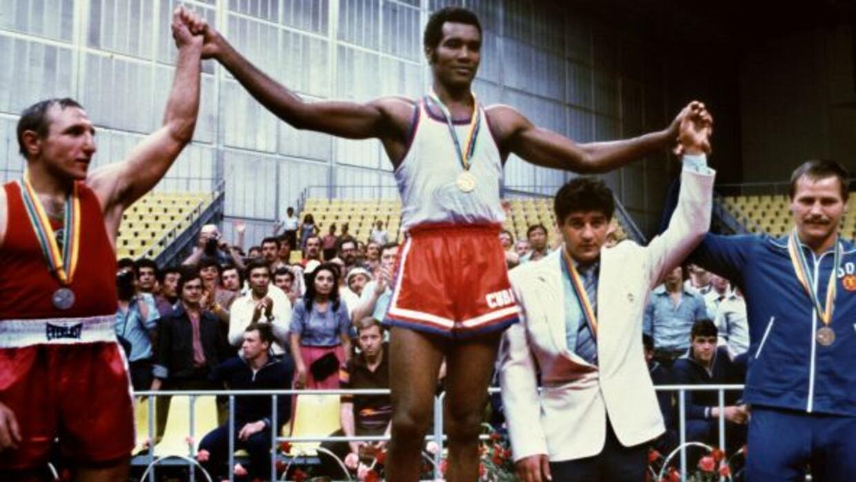 Teófilo Stevenson ganó las medallas de oro en los Juegos Olímpicos de Mú...