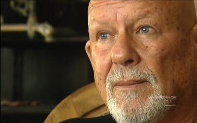 El mercenario israelí Yair Klein habló para las cámaras de Univision