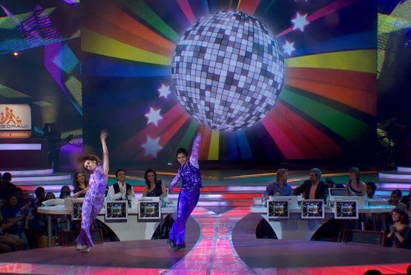 En esta quinta gala, los bailaines mostraron sus mejores pasos.