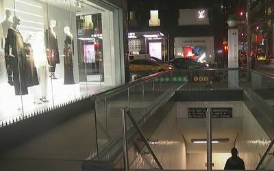 Un hombre cortó con un cuchillo a un pasajero en el subway en Manhattan