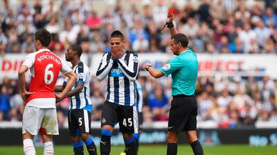El Arsenal salió victorioso de la cancha del Newcastle United.