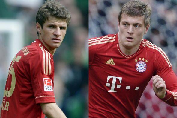 Thomas Müller o Toni Kroos son las opciones para aparecer en el cam...