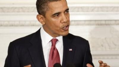 El Presidente Obama dijo el lunes que apoya una propuesta para permitir...