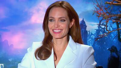 Los hijos de Angelina Jolie se asustaron al verla de bruja
