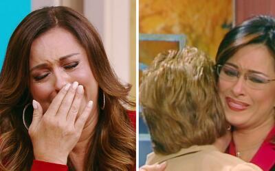 Neida Sandoval se derrumbó al recordar la visita de su madre a Despierta...