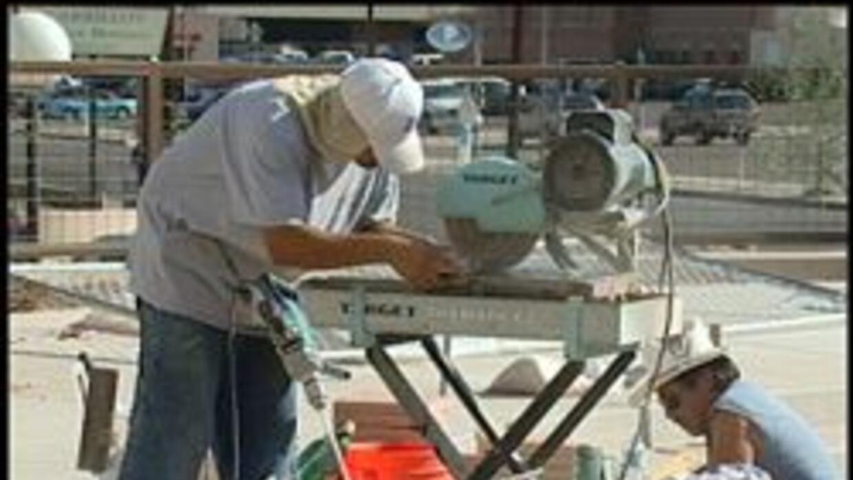Trabajadores de construccion