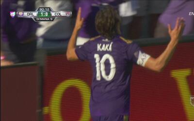 Kaká selló su regreso con un gran gol