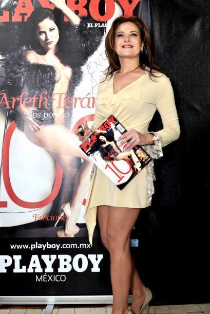 Arleth Terán decidió quitarse la ropa para Playboy en febrero de 2011.