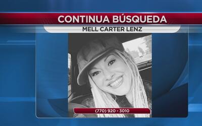 Continua la búsqueda de Mell Carter tras varios días desaparecida