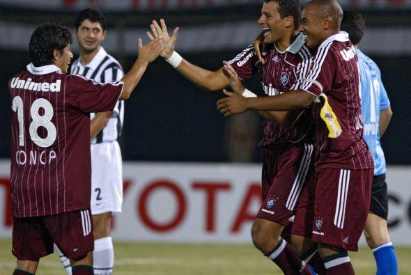 La propia afición del Fluminense lo nominó el ´Crack de la hinchada´ con...