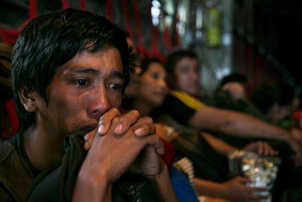 El número de muertos por el tifón Haiyan, que arrasó el centro de Filipi...