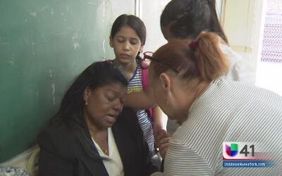 Agradecida familia dominicana afectada por fuego
