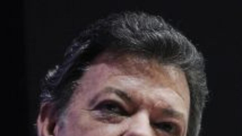 El presidente de Colombia, Juan Manuel Santos, advirtió que la banda cri...
