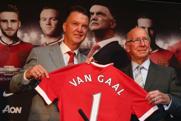 Aunque el proyecto y contrato de Van Gaal es para realizarse en un proce...