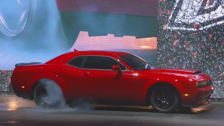 Presentan la nueva versión del Dodge Demon, el vehículo más rápido de to...
