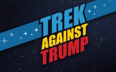 'Trek Against Trump'.