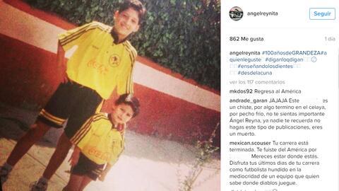 Ángel Reyna apoyó al América previo al Clásico