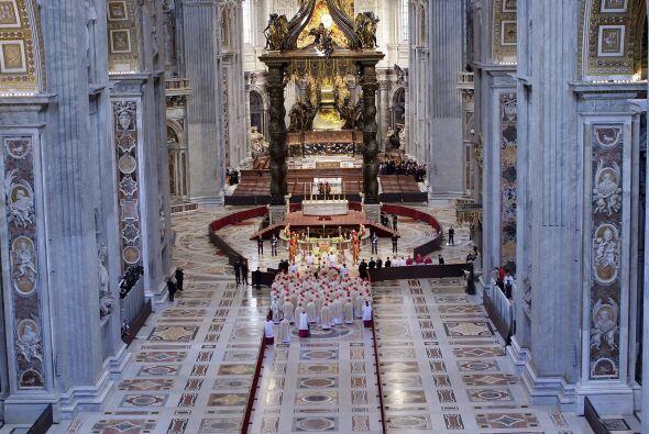 La imponencia de la Basílica de San Pedro se veía desde todos los ángulos.