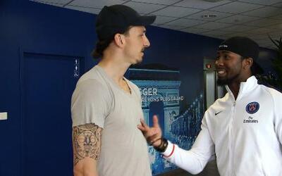 Josh Norman visitó al PSG y se declaró fan de Zlatan Ibrahimović