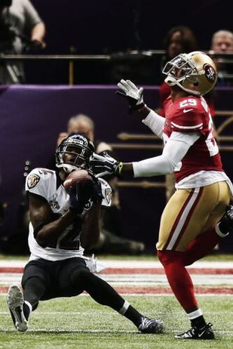 Pero si no se pudo una vez, en esta los Ravens sorprendieron a la defens...
