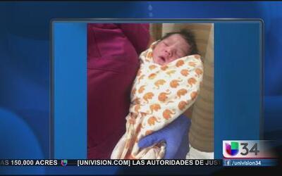 Hallazgo de bebé abandonado en Los Angeles