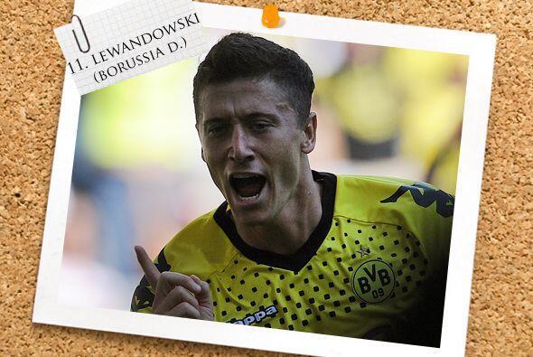 Y también de Alemania llega Robert Lewandowski.