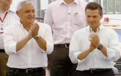 Presidentes de México y Guatemala, juntos contra la Crisis Humanitaria