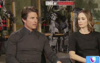 Tom Cruise y Emily Blunt en 'Edge of Tomorrow'