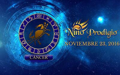 Niño Prodigio – Cáncer 23 de Noviembre, 2016