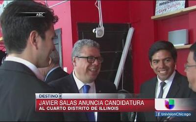 Javier Salas anuncia candidatura