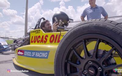 A Bordo de autos de Formula para evaluar los nematicos Cooper Zeon RS3-G1