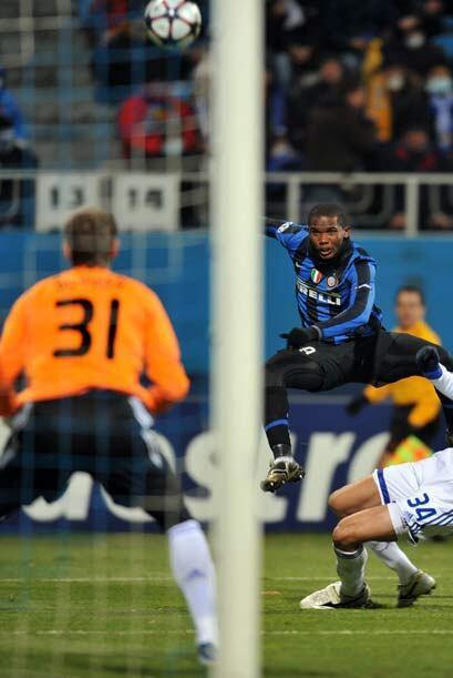 A falta de 4 minutos para el final el Inter perdía 1-0 contra el...