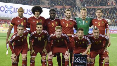 Bélgica es el nuevo líder del ranking FIFA